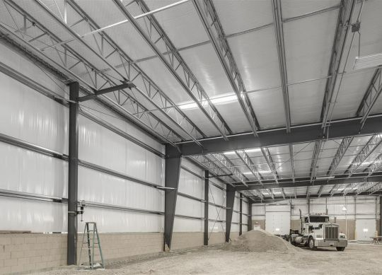 Butler's SunLite Strip® Daylighting System in action