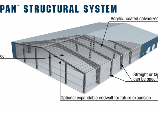 Widespan Structural System